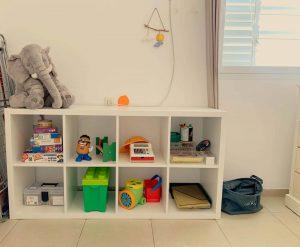 חדר משחקים מינימליסטי