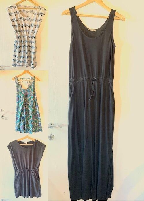 מלתחה מינימליסטית - שמלות
